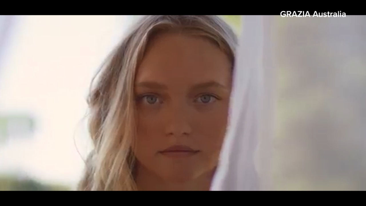Model Gemma Ward stars in Auguste campaign
