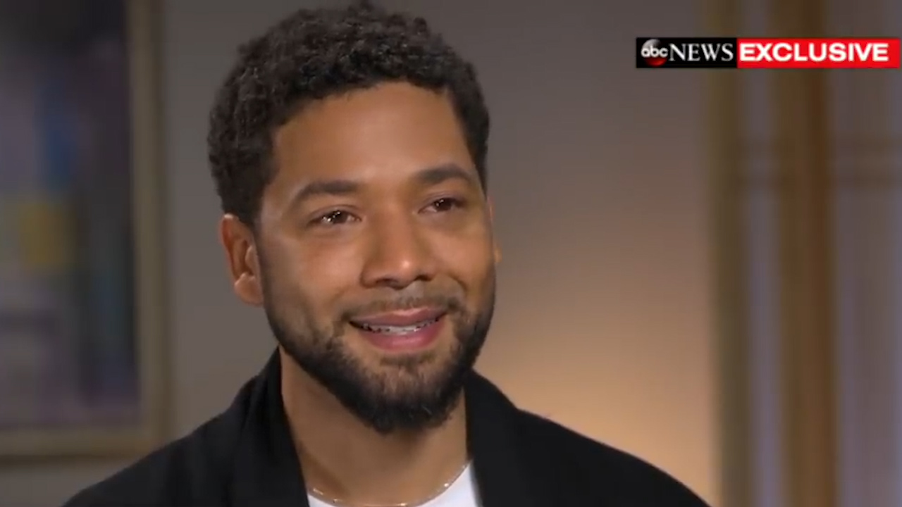 Jussie Smollett apologises to Empire's cast and crew following arrest