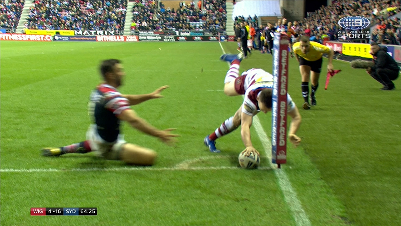 Wigan winger scores brilliant try