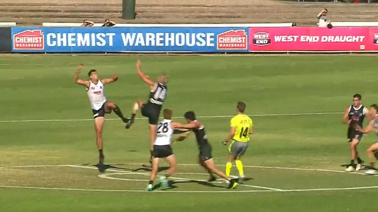 Battle for Port ruck spot