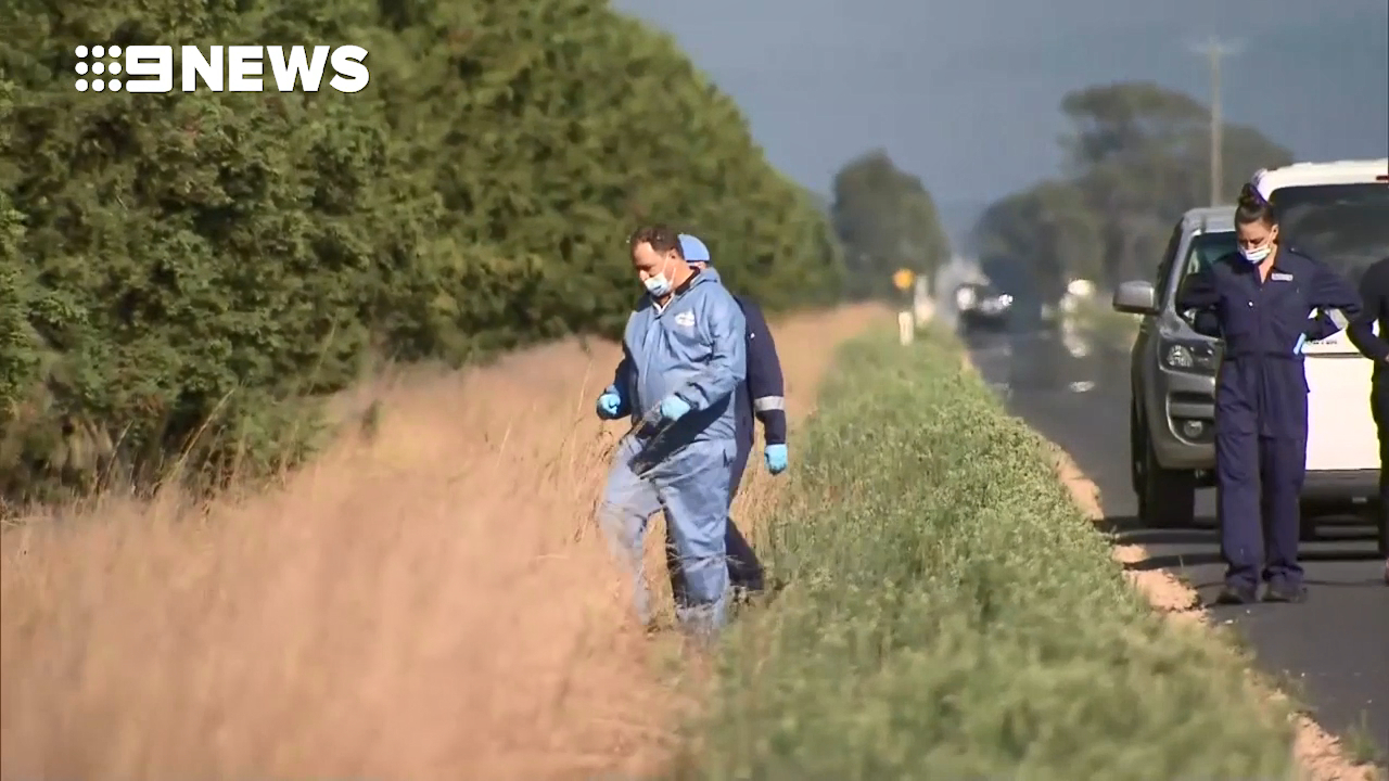 Pair arrested after human remains discovered in Victoria's east