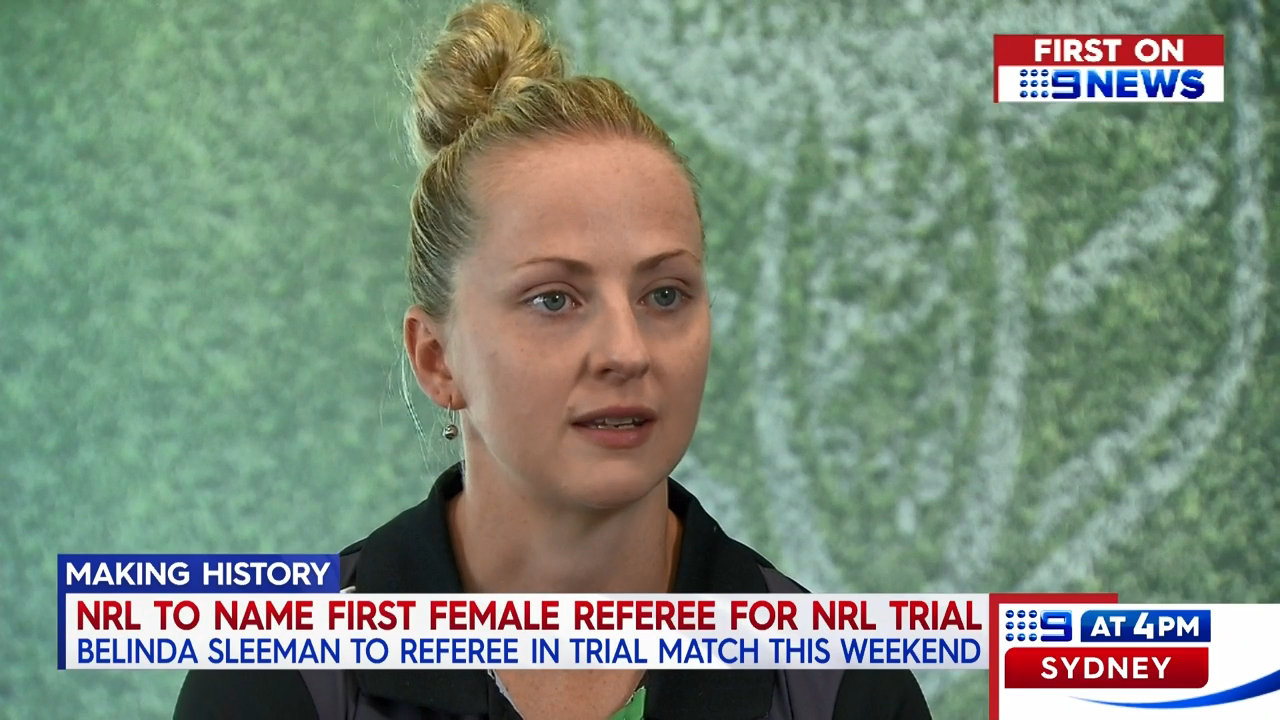 NRL to name first female referee