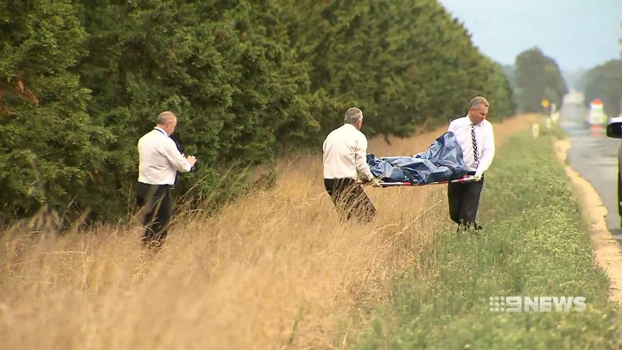 Human remains found  near deserted road