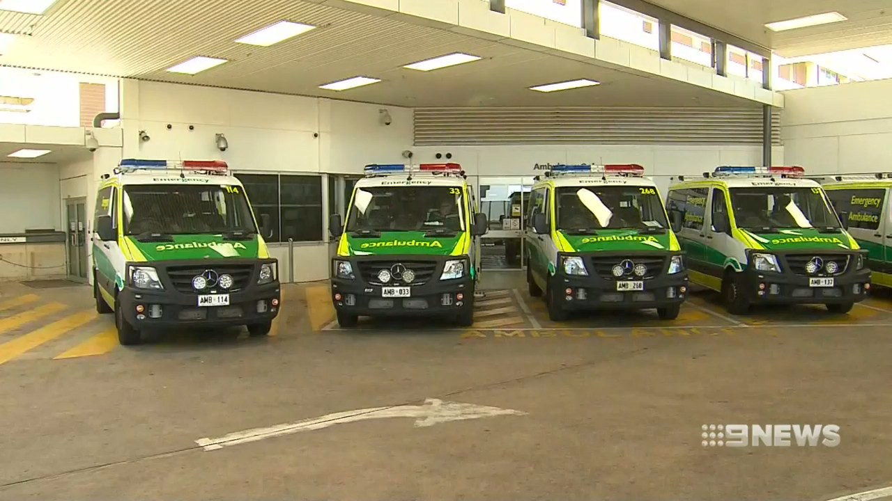 Elderly woman forced to wait eight hours for an ambulance