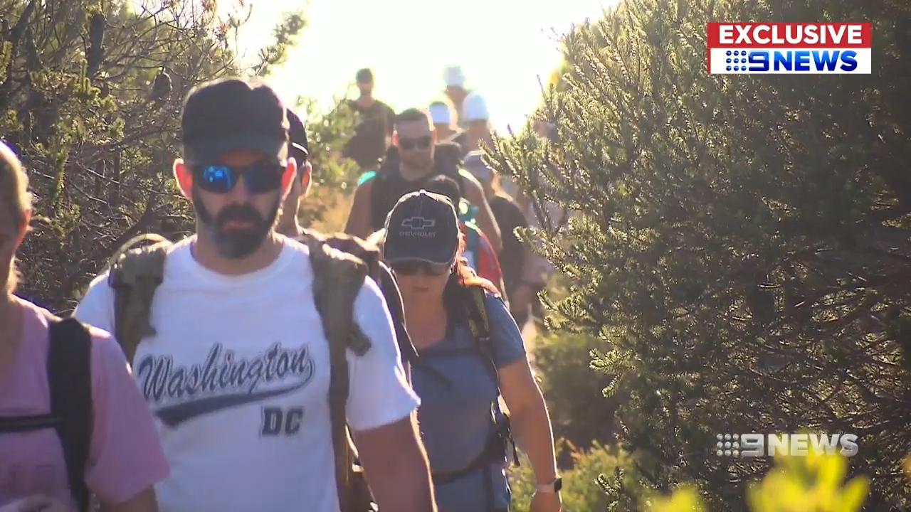 Top cops training to walk the Kokoda track