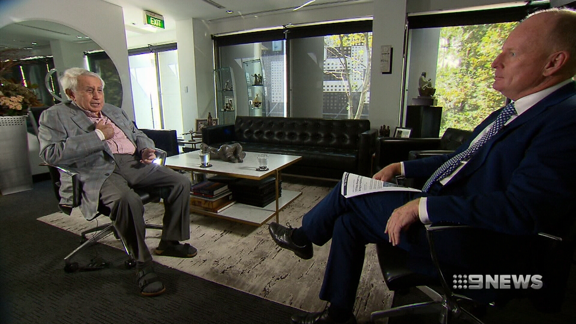 Harry Triguboff speaks exclusively to Ross Greenwood