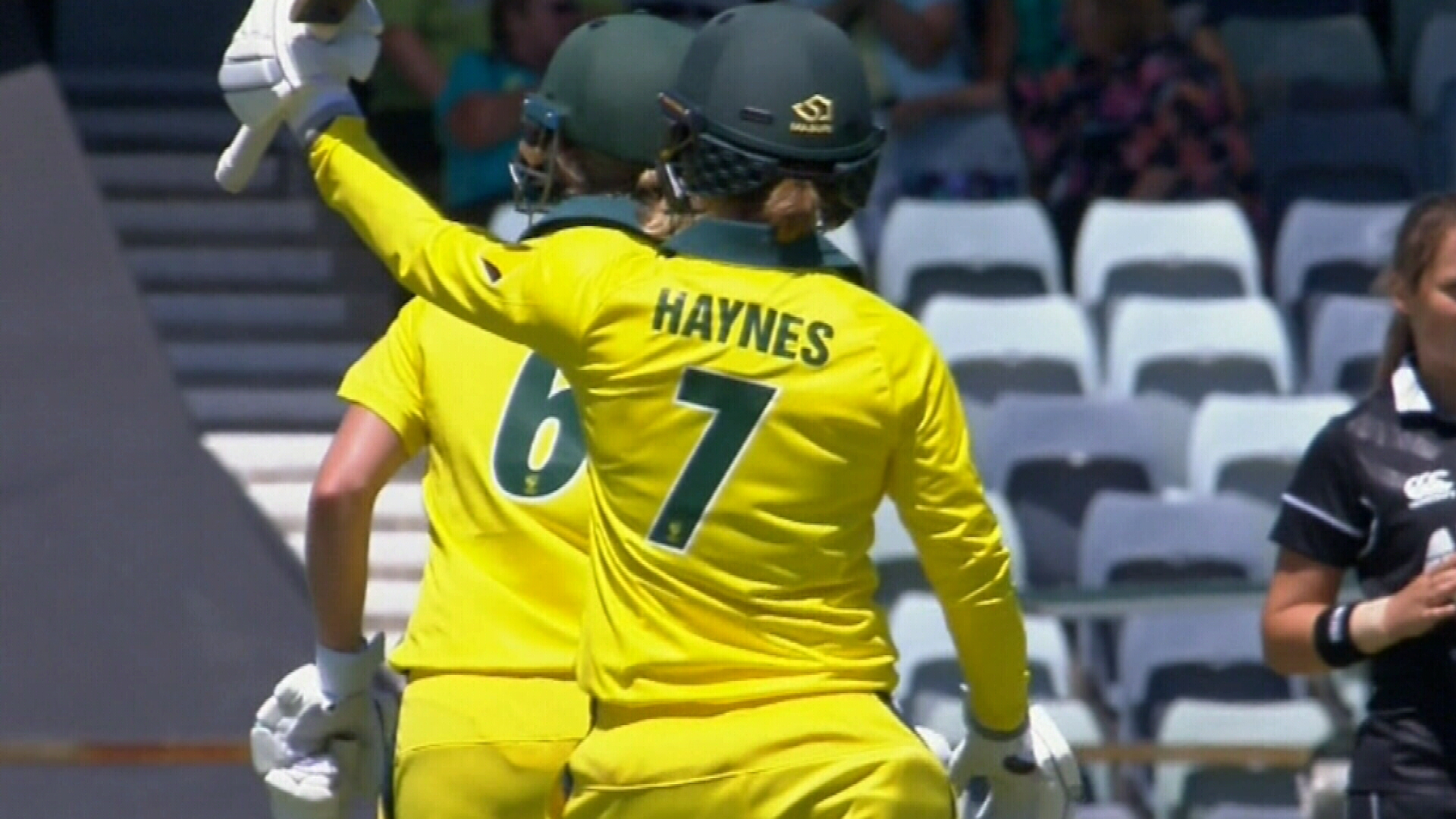 Australia beat White Ferns at the WACA