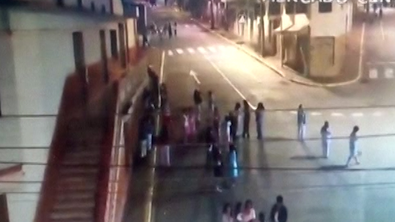 Earthquake hits eastern Ecuador