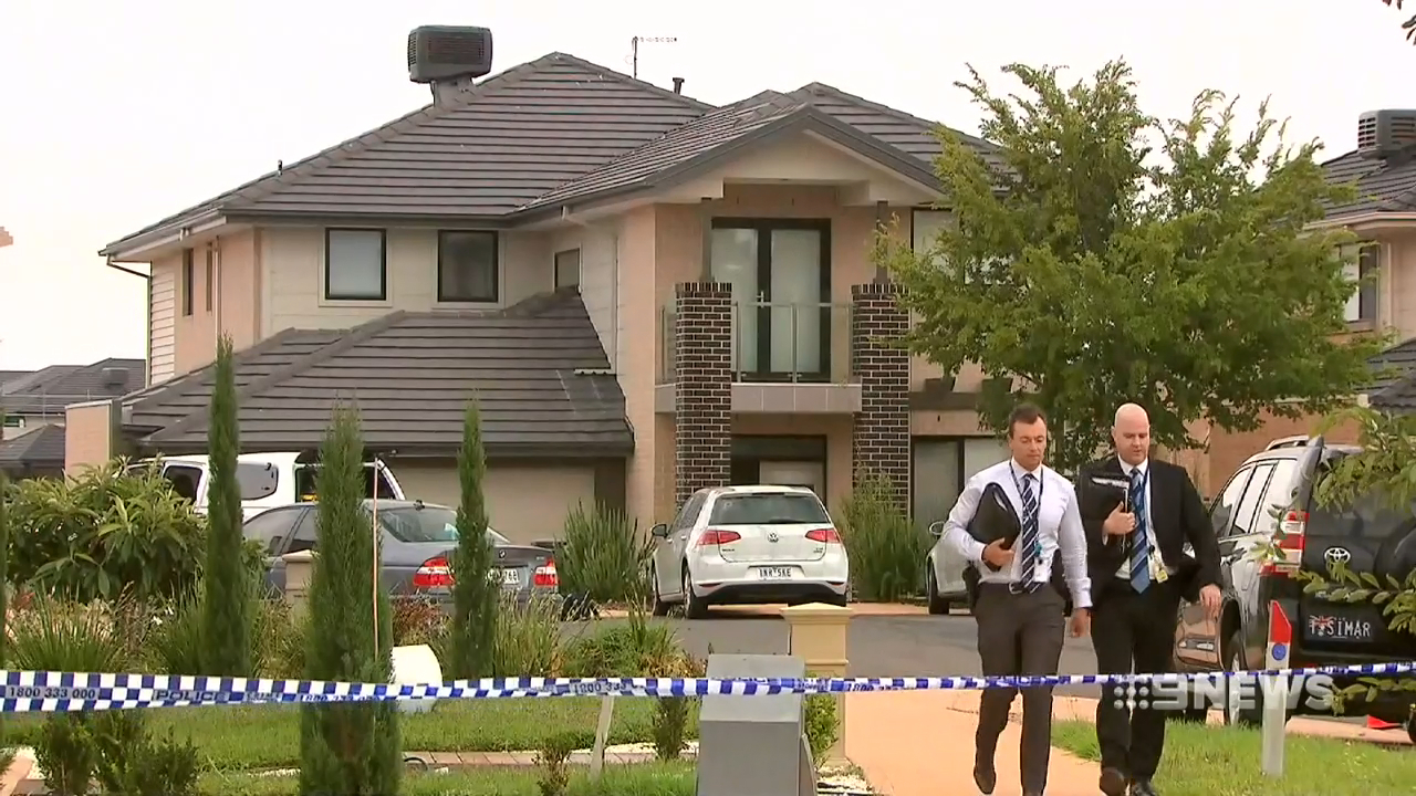 Two people in custody after man shot in face