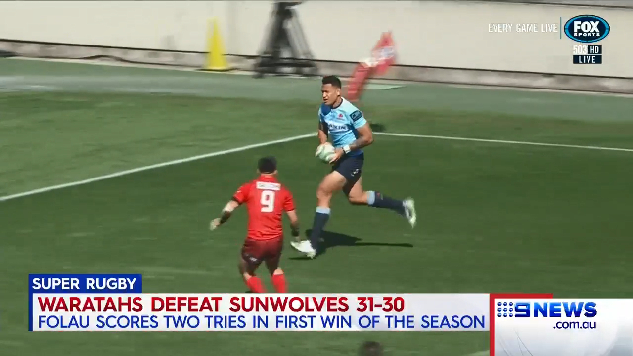 Waratahs scrape past Sunwolves