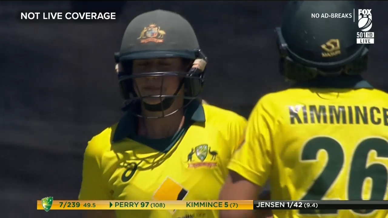 Perry makes first ODI ton with dropped catch