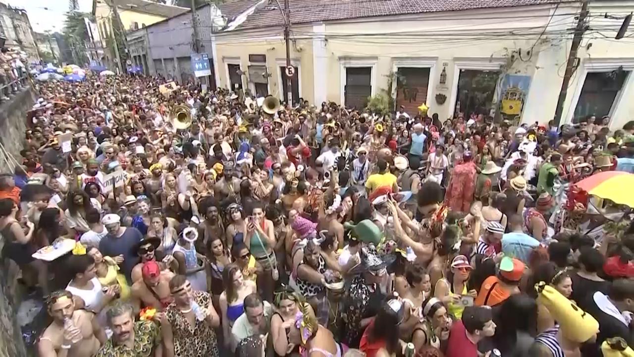 Taking aim at Carnival, Brazil president Jair Bolsanaro tweets obscene post