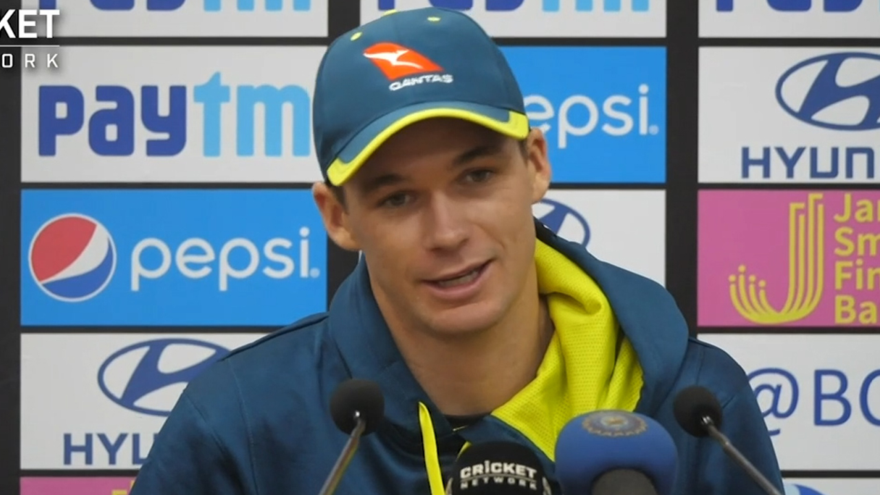 Handscomb speaks after record ODI win
