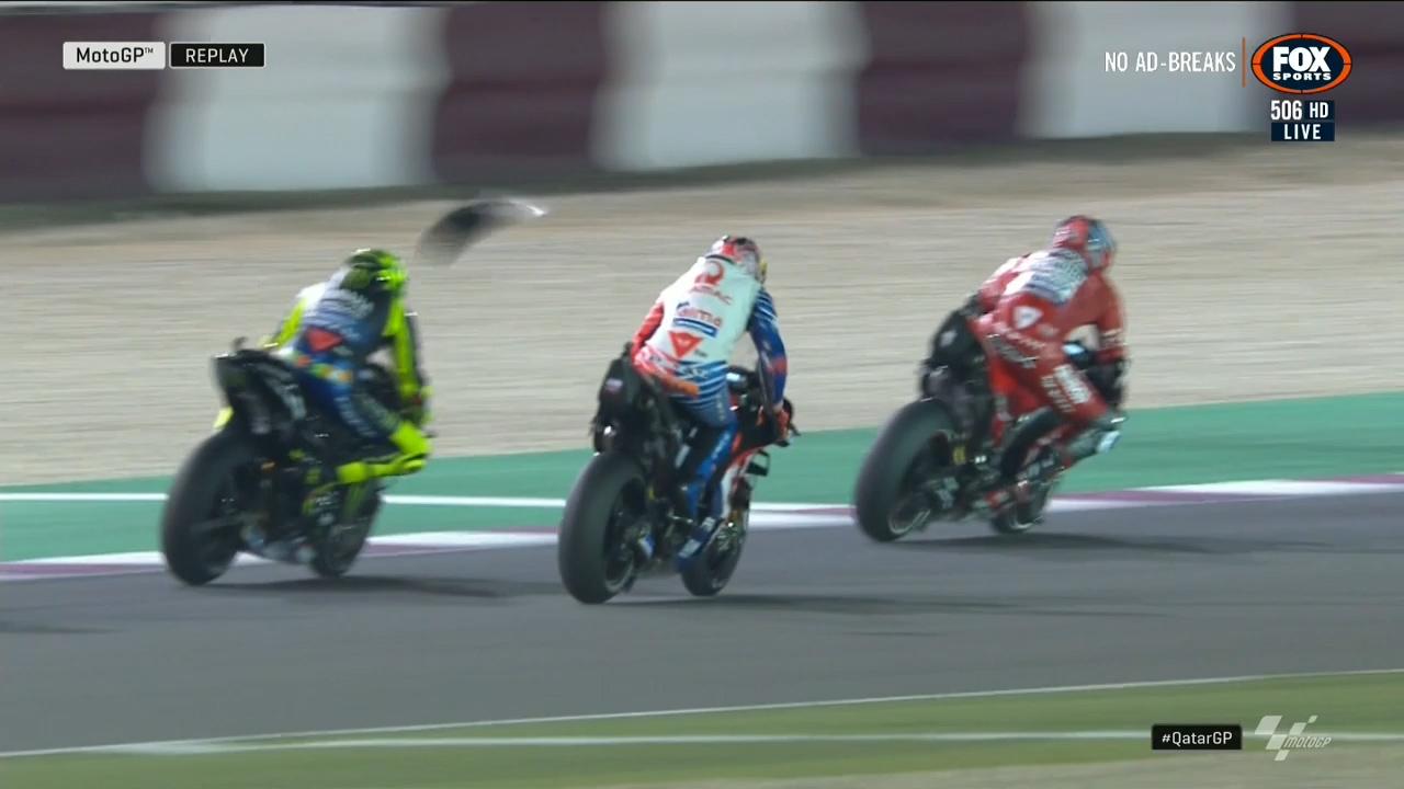Aussie forced into bizarre retirement at Qatar Moto GP