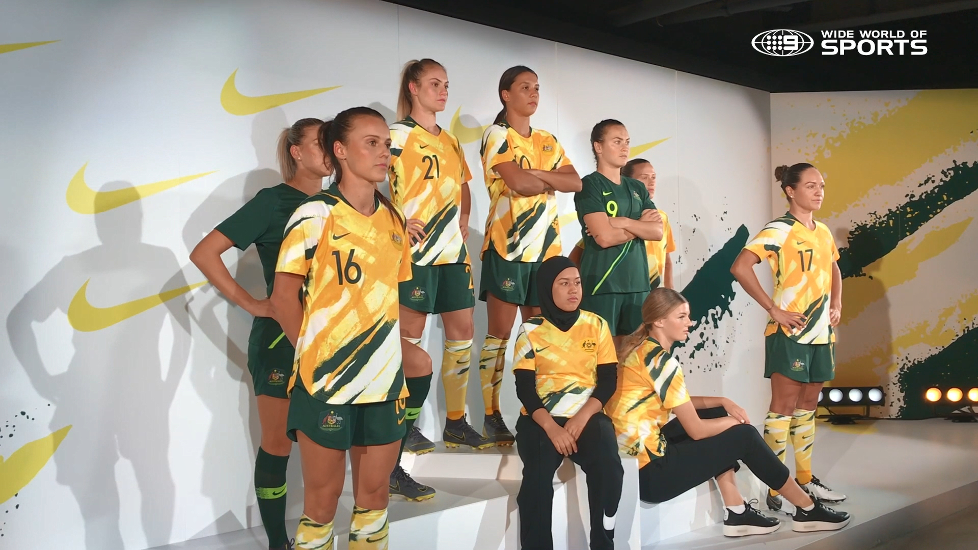 Nike unveil the Matildas' Women's World Cup kit
