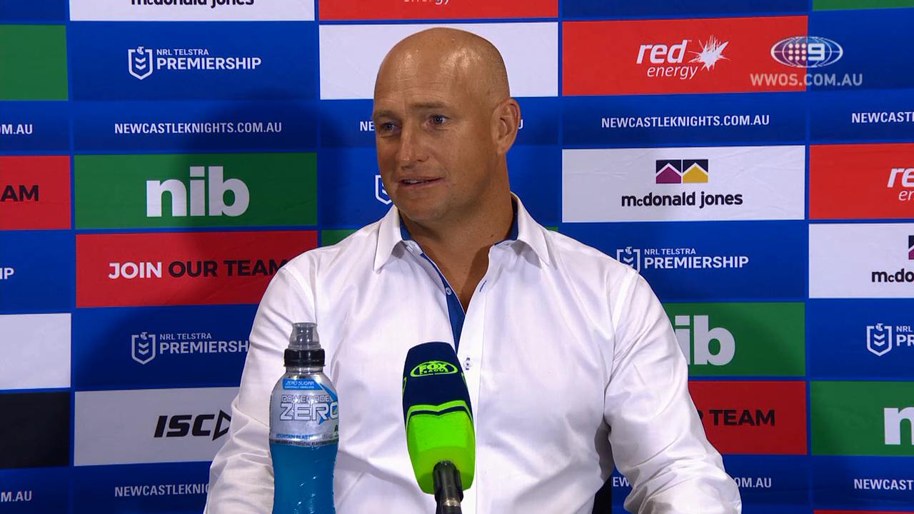 NRL Press Conference: Nathan Brown - Round 1