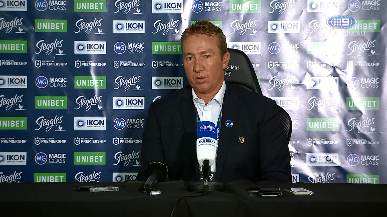 NRL Press Conference: Trent Robinson - Round 1