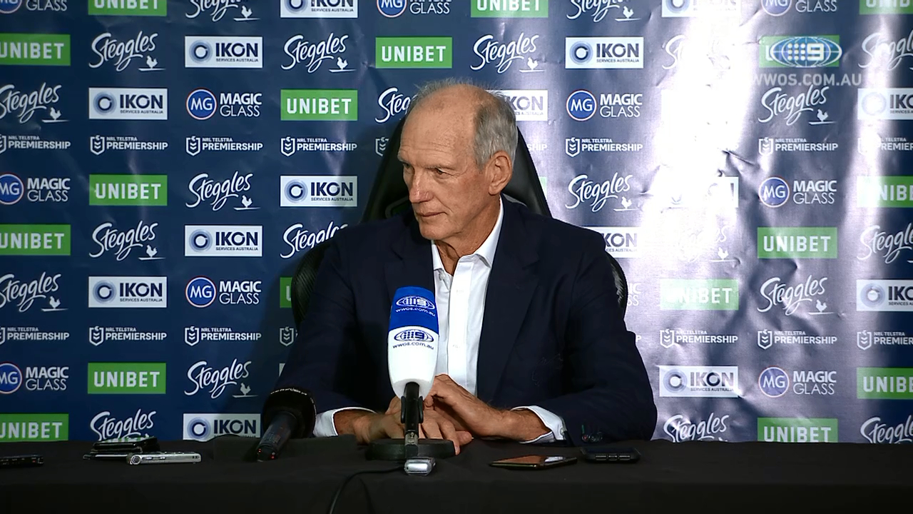 NRL Press Conference: Wayne Bennett - Round 1