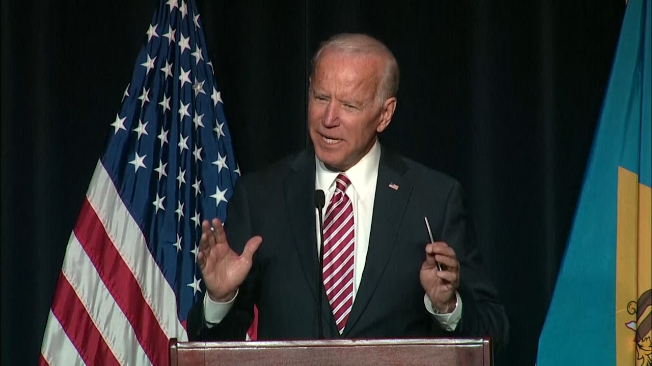Former VP Joe Biden slips, calls himself presidential candidate