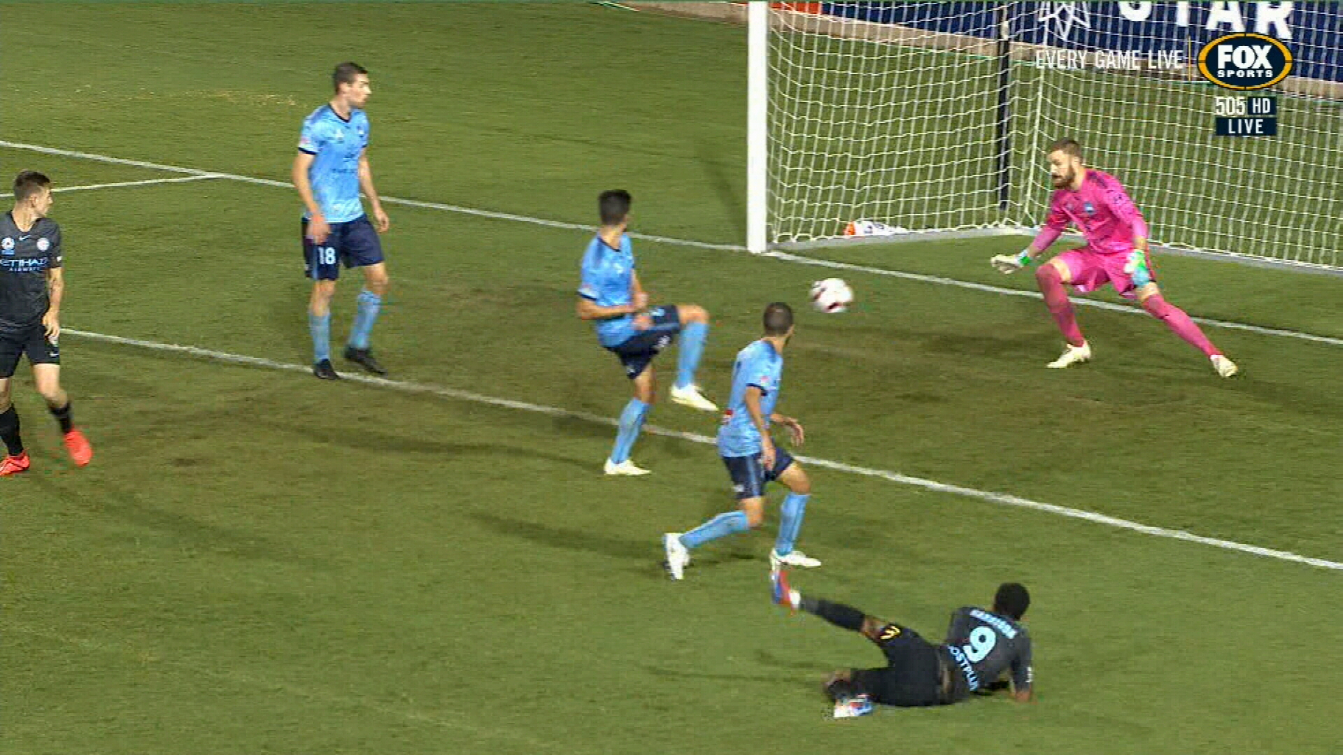 Melbourne City down Sydney FC