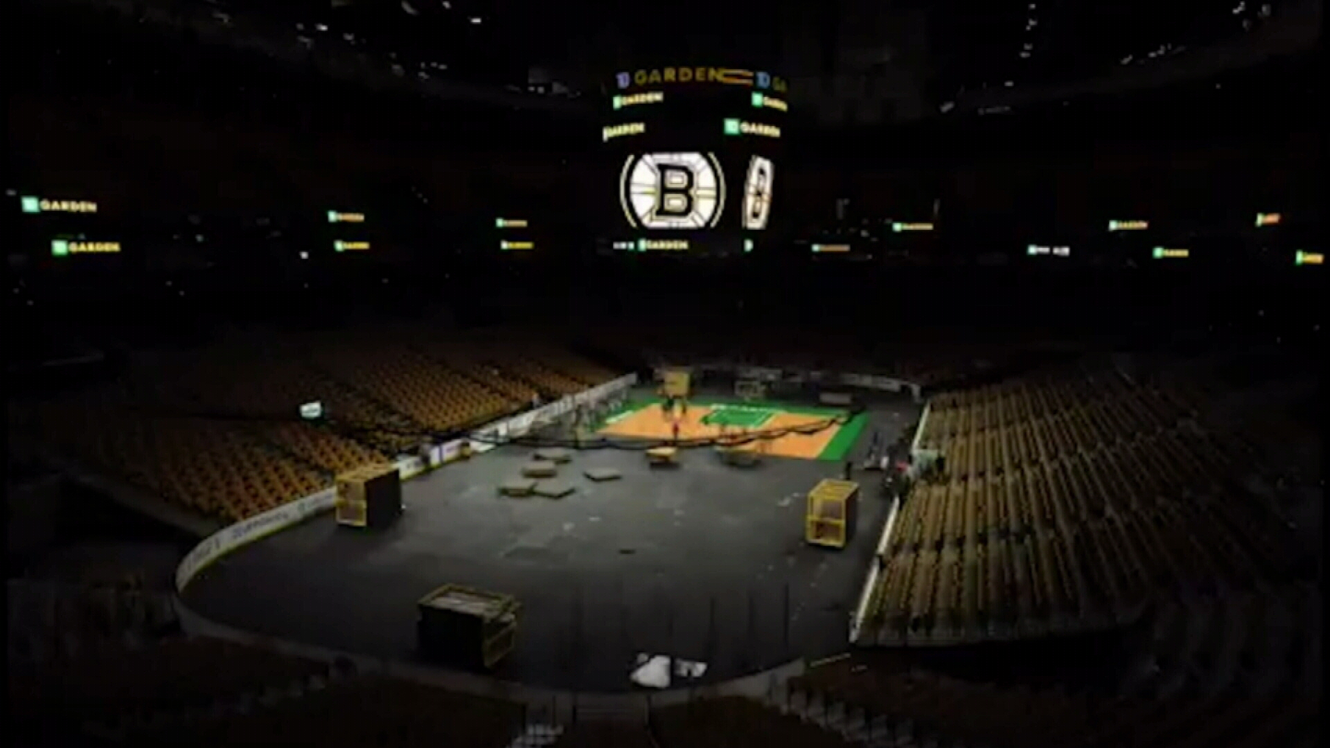 Boston Garden's amazing transformation