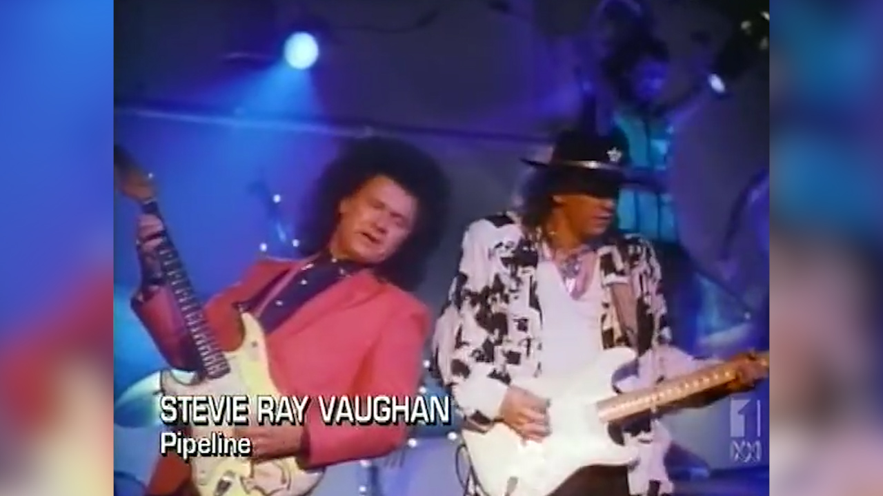Dick Dale and Stevie Ray Vaughan perform 'Pipeline'