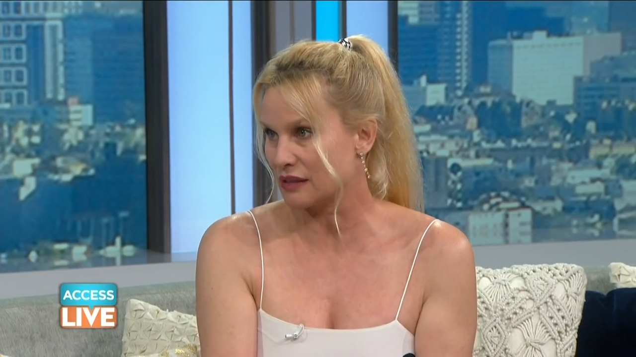 Nicollette Sheridan says the college admissions scam is a 'disgrace'