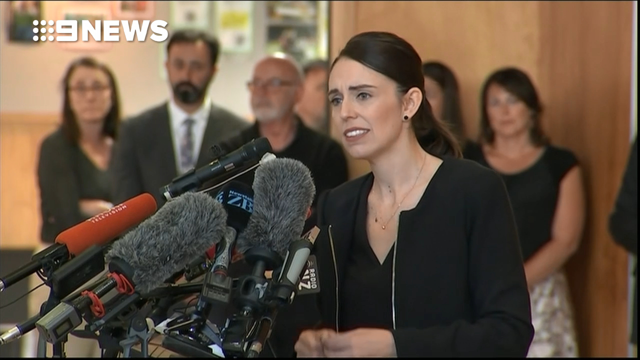 'It's okay to grieve', says New Zealand PM