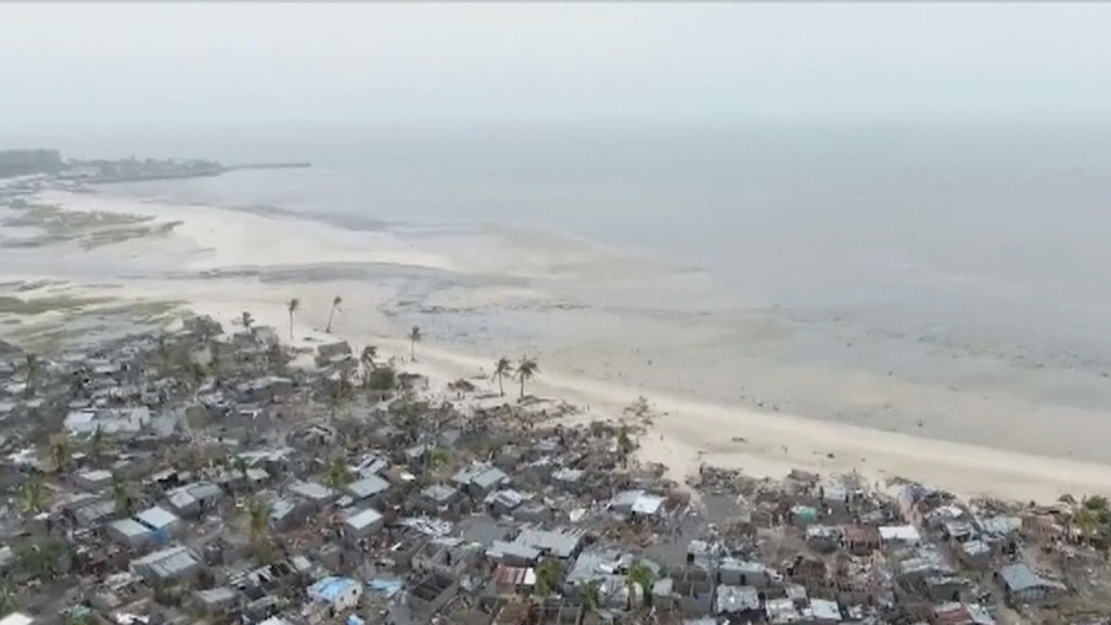 Death toll in Mozambique from Cyclone Idai rises to 446