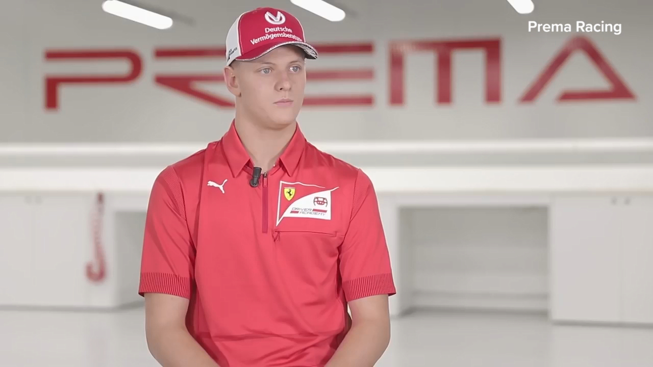Mick Schumacher says he has no problem being compared to his father