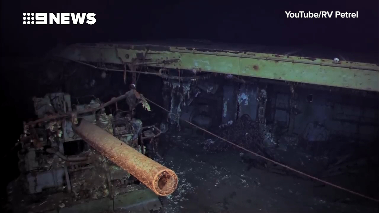 Wreck of World War II aircraft carrier found under Coral Sea