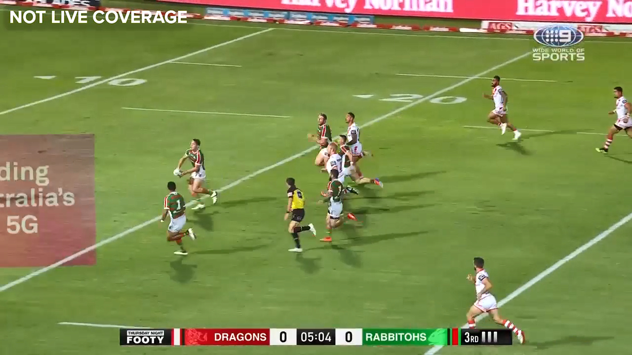 Murray's stunning solo try
