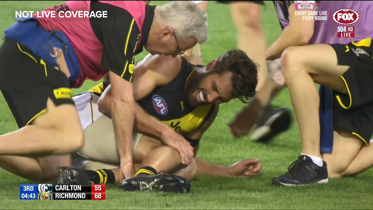 Rance suffers knee injury