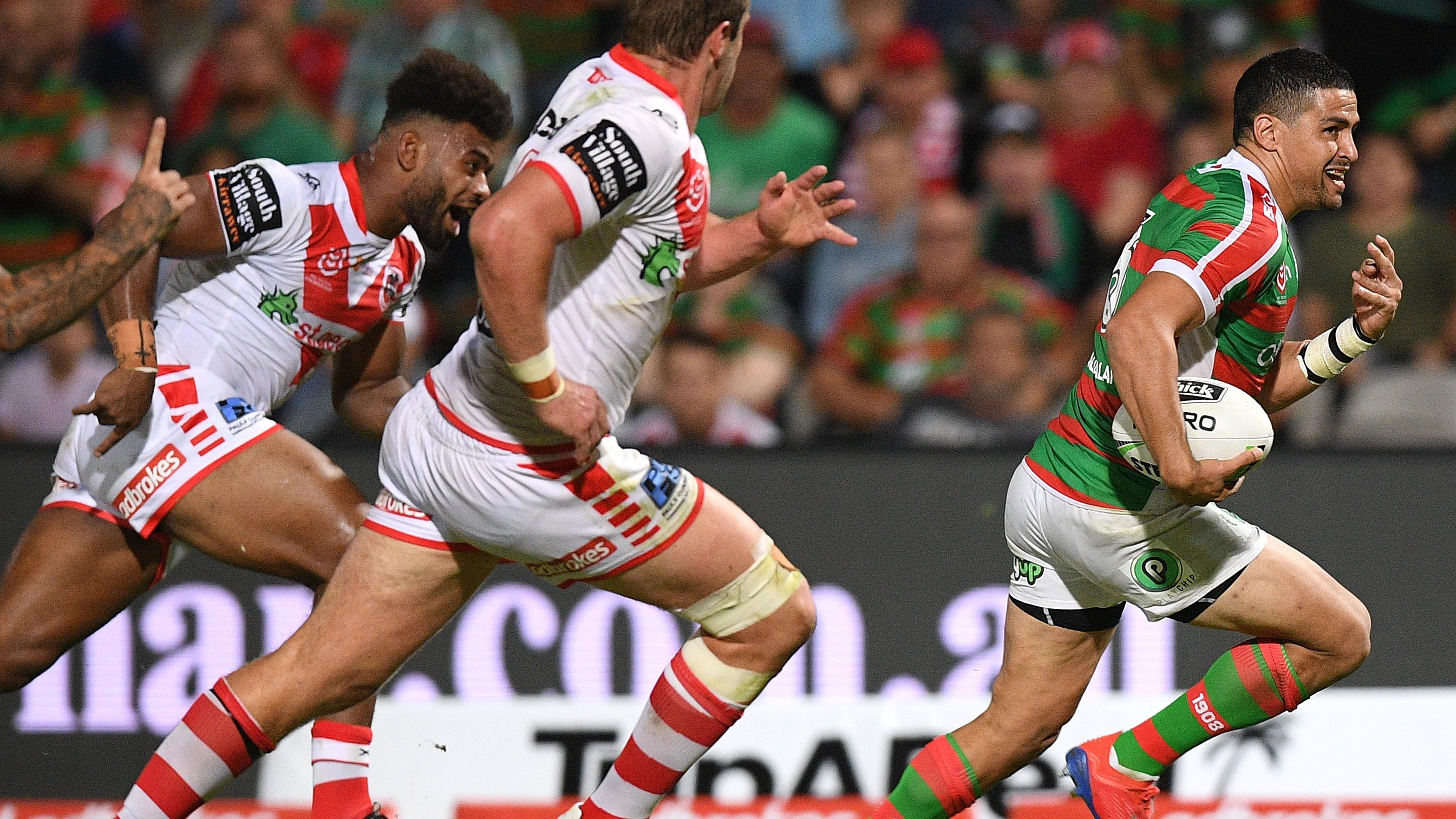 NRL Highlights: Dragons v Rabbitohs - Round 2