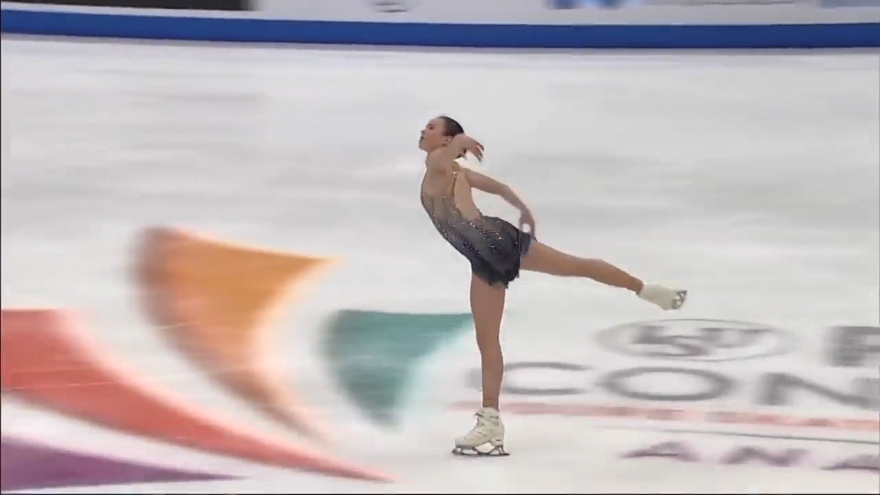 Mariah Bell at USA Free Skate 2019