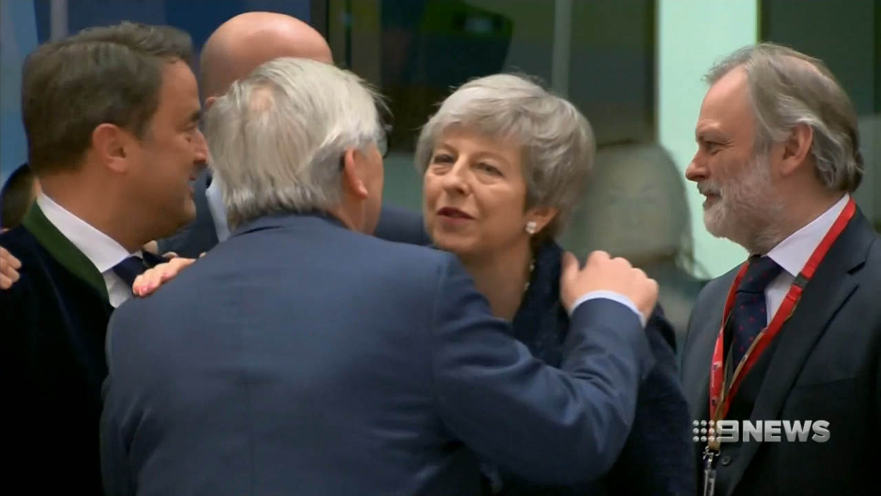 Theresa May convinces EU leaders to delay Brexit