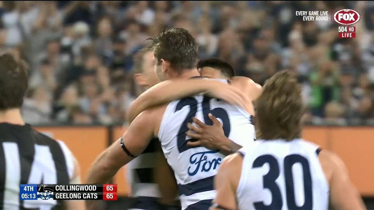 Hawkins kicks the game-winner
