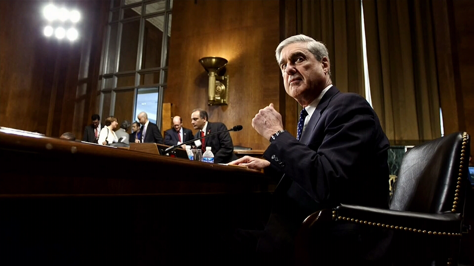 Mueller submits long-awaited report