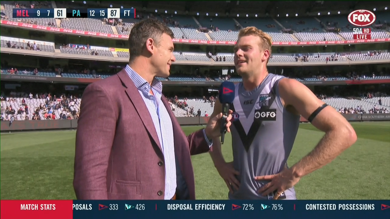 Emotional Watts opens up after win