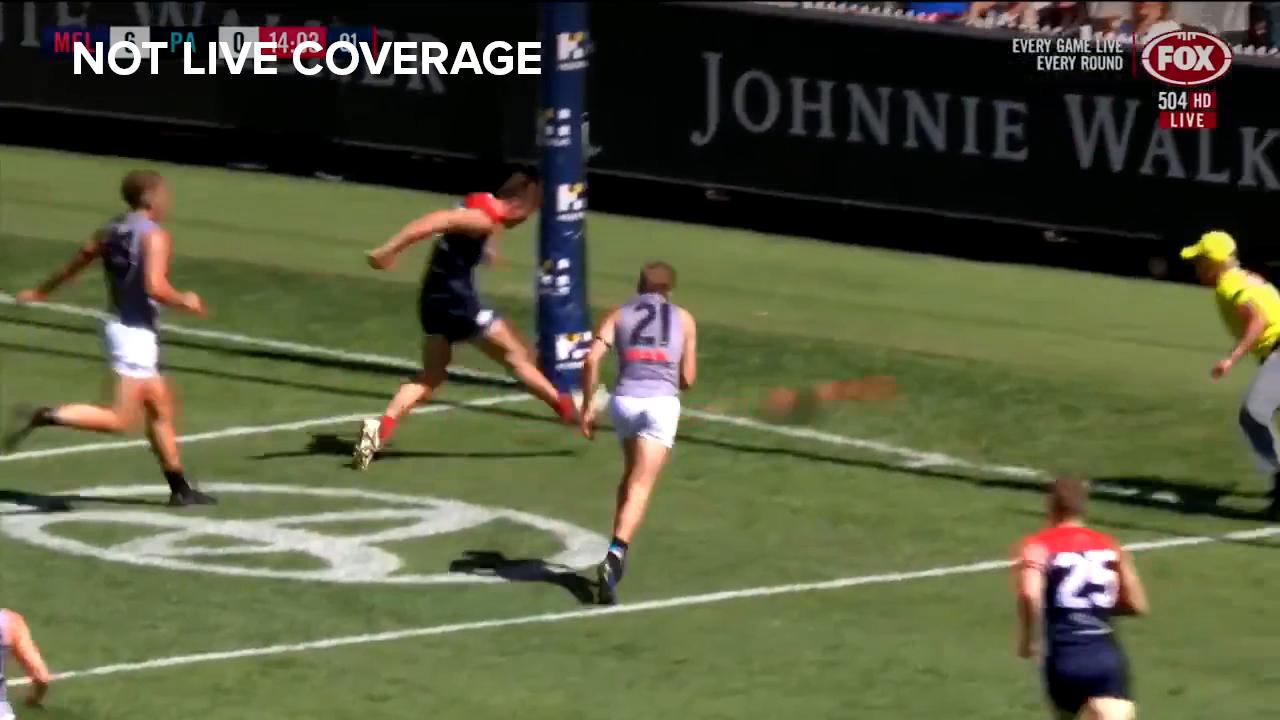 Sparrow kicks first AFL goal