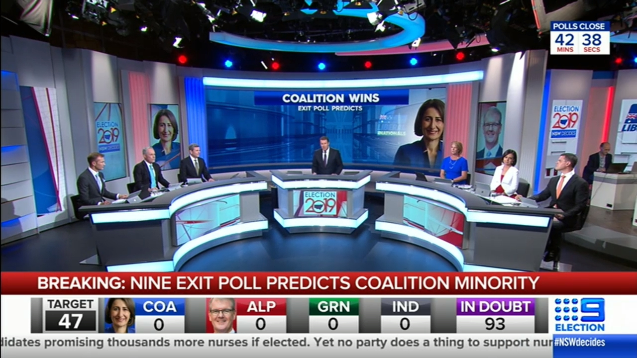 Exclusive Nine-Galaxy exit poll