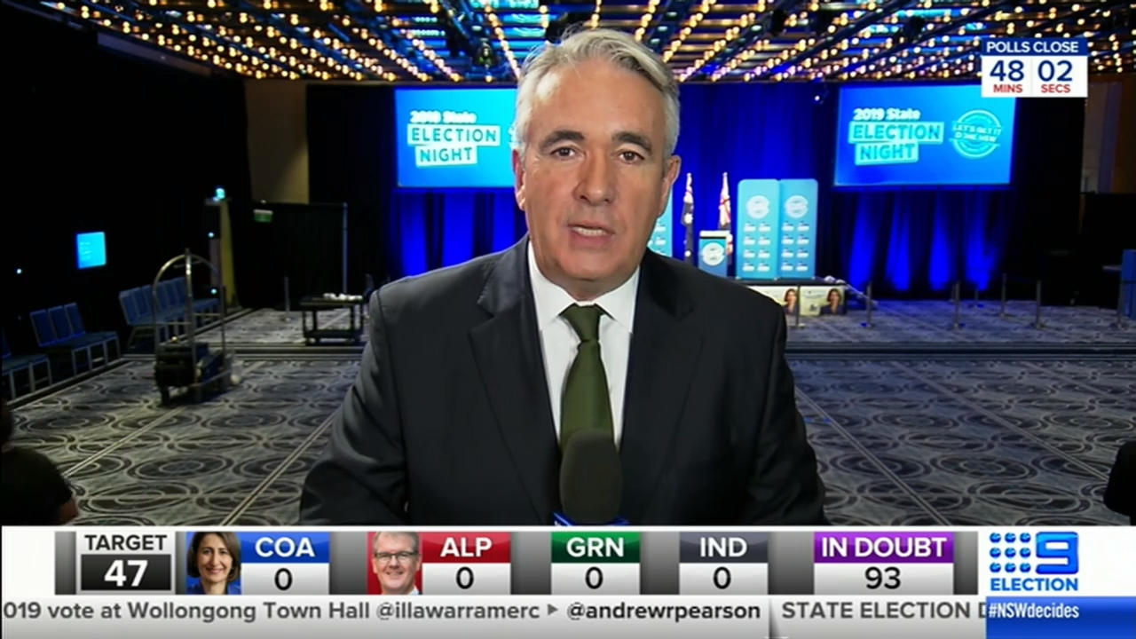 NSW Election: Liberal party headquarters