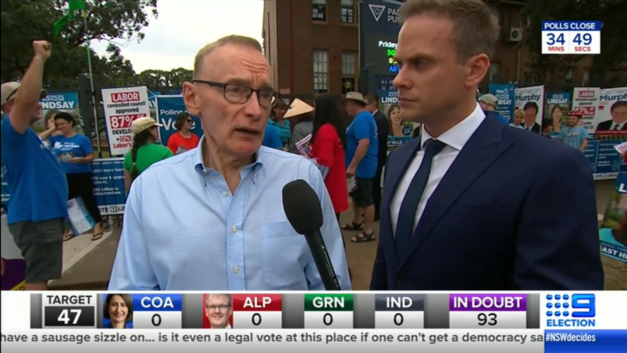 NSW Election: 9News speaks with former Premier Bob Carr