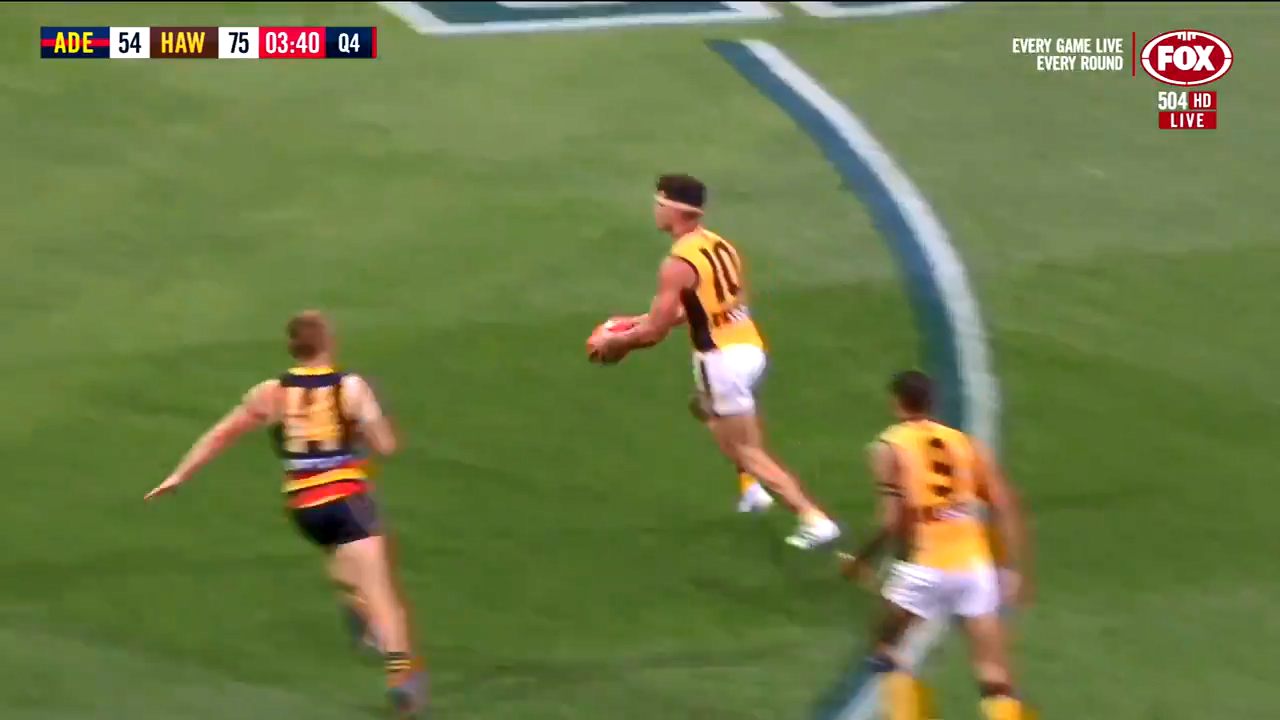 O'Meara drills the sealer