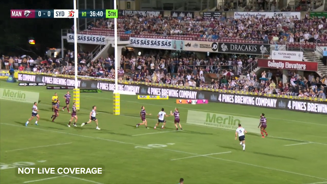 Morris gives Roosters early lead