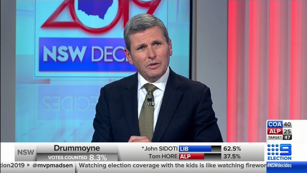 NSW Election: 'It seems unlikely that the Labor Party will form government'
