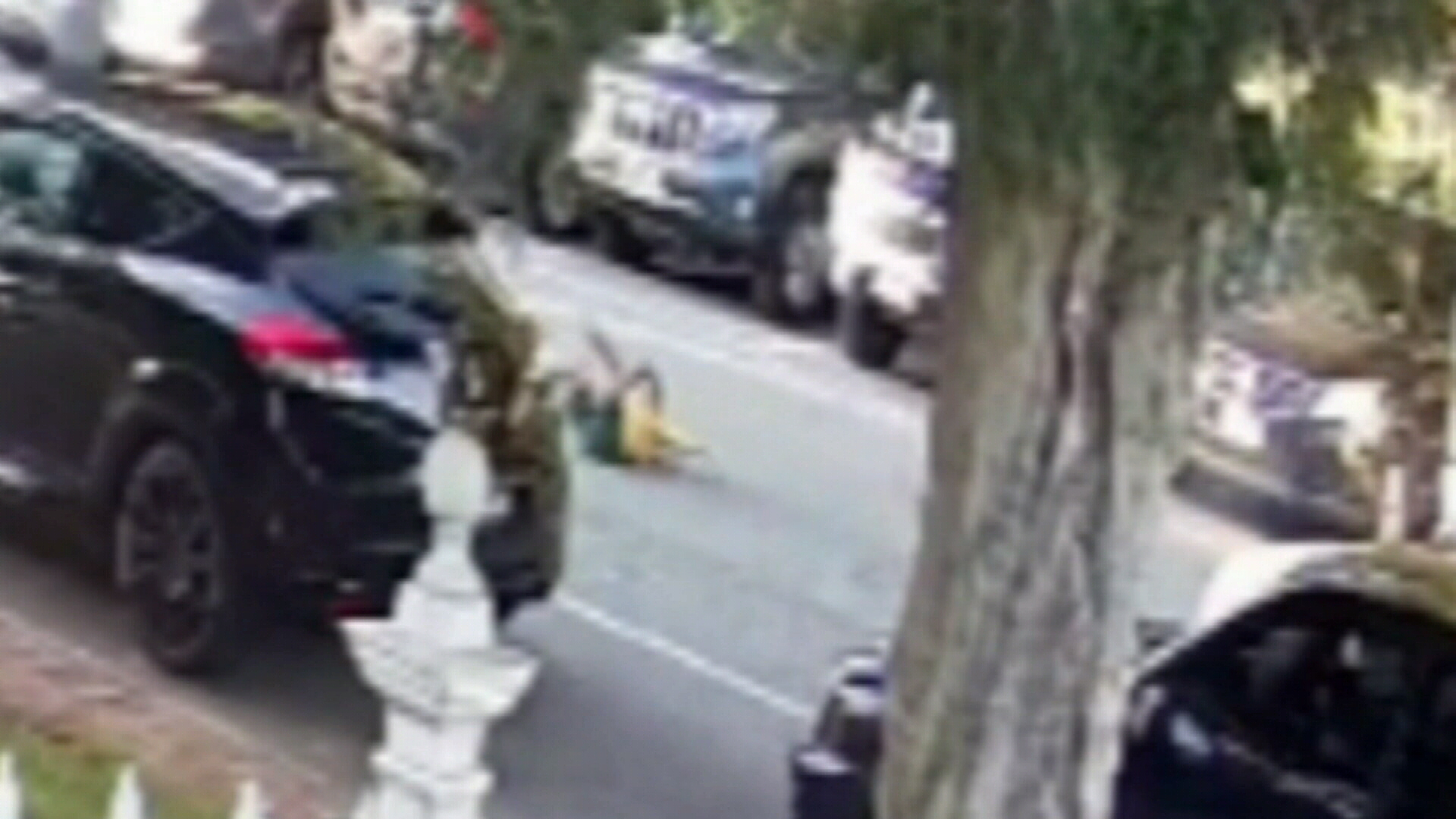 Heart-stopping footage of child being hit by car in Perth