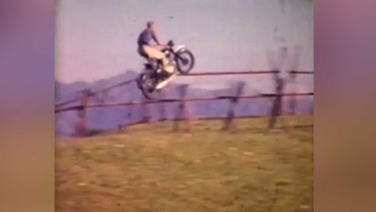Never-seen-before footage of Steve McQueen in The Great Escape film