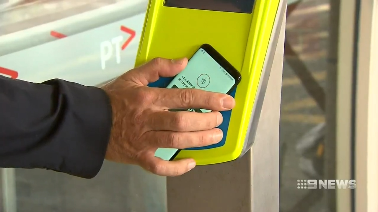 Phones to replace myki cards in Vic