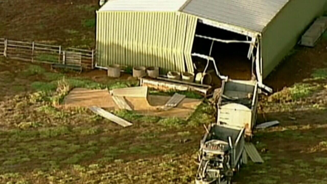 Truck driver dies in crash